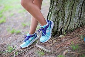 儿童, 跑步,跑鞋