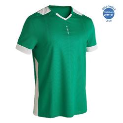 成人足球衫F500 -绿色