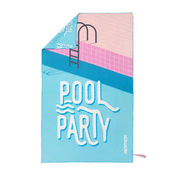 微纤维毛巾SW MF PRINT L CN LTD EDITION Pool Party