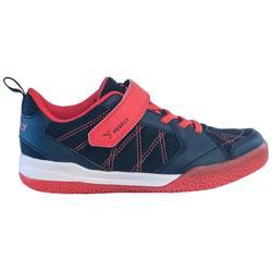 青少年羽毛球鞋BS 160 深蓝色红色