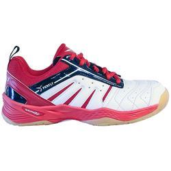 儿童轻量羽毛球鞋BS560 白色粉色