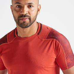 FTS 500 有氧健身运动 T 恤 - 红色