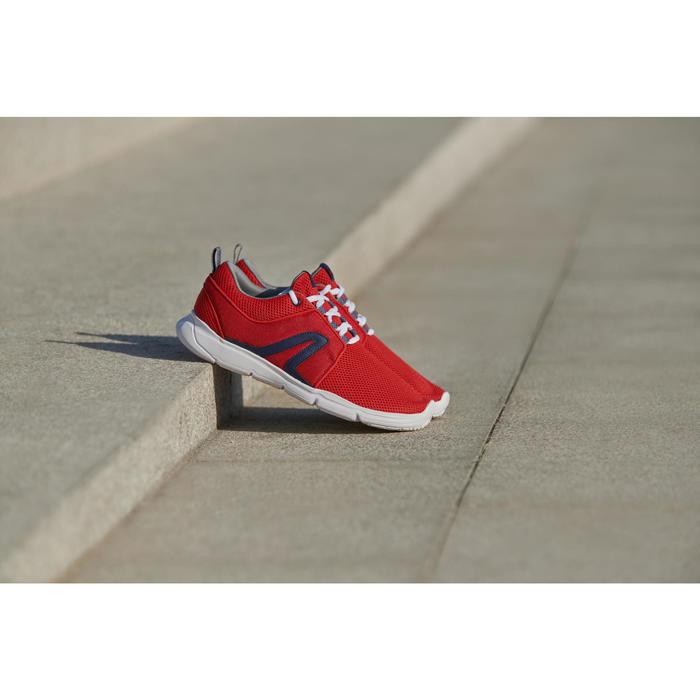 PW 120 男士健走鞋 - 红色/白色