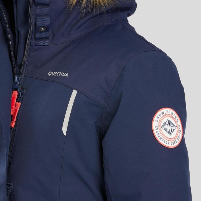 防雪夹克-女童-保暖-浅蓝色 7-15岁 | QUECHUA SH500