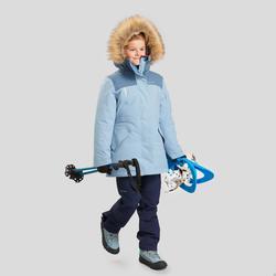 防雪大衣-女童-超保暖-深蓝-7-15岁 | QUECHUA SH500