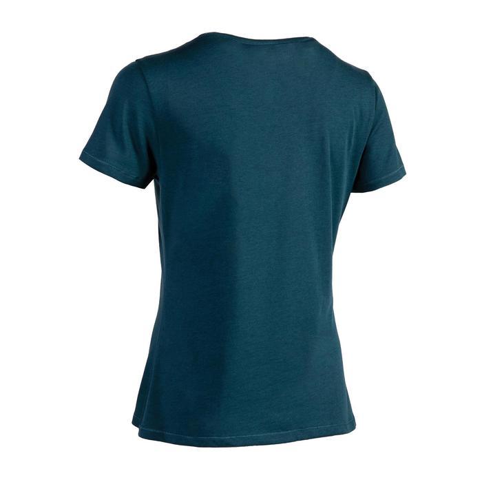 女式基础健身直筒 T 恤