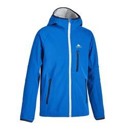 青少年山地徒步软壳夹克 7-15 岁 MH550 - 灰色