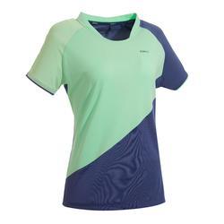 女士T恤530-灰绿