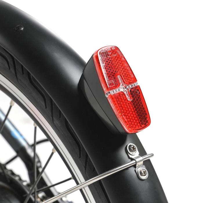 电助力折叠自行车500 黑色