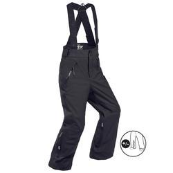 儿童滑雪裤D-SKI PNF 900 - BLK