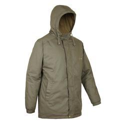 荒野探险保暖大衣-灰绿色