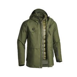 TRAVEL 500 男式三合一羽绒内胆保暖夹克-军绿色