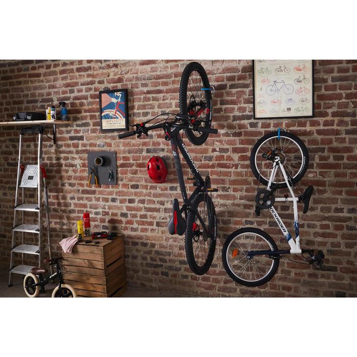 1-墙壁和天花板自行车架