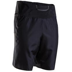Kiprun男式马拉松短裤 带口袋 - 黑色