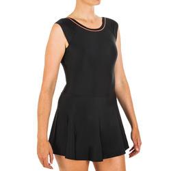 女式连体泳衣Una - Black
