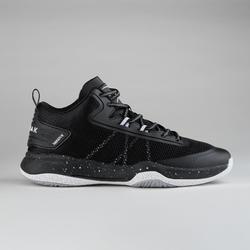 男式中帮篮球鞋SC500 - 黑色