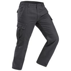 TRAVEL100 男式休闲保暖长裤 - 灰色
