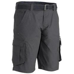 Travel 100 男式徒步旅行短裤 - 灰色