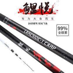 台钓鲤竿鲤悦3.6米CN Lakeside 1 CARP Black 360cm