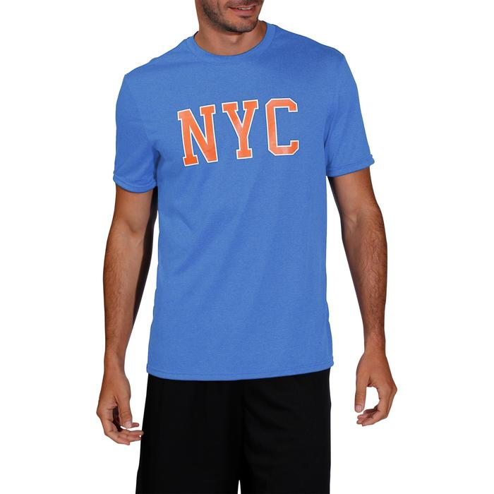 成人篮球T恤 Fast NYC -蓝色