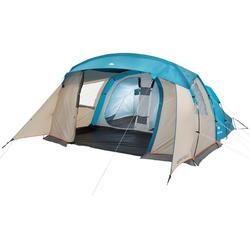 户外运动防水耐用 抗风 易修复家庭基地式露营帐篷 QUECHUA ARPENAZ FAMILY 5.2