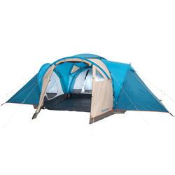 带拱门露营帐篷 ARPENAZ 6.3 | 6 人用,3 个卧室