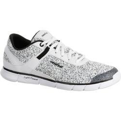 Soft 540 女式健走鞋 - 斑点白