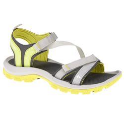 户外运动舒适耐磨女士徒步凉鞋 QUECHUA ARPENAZ 100 Sandals