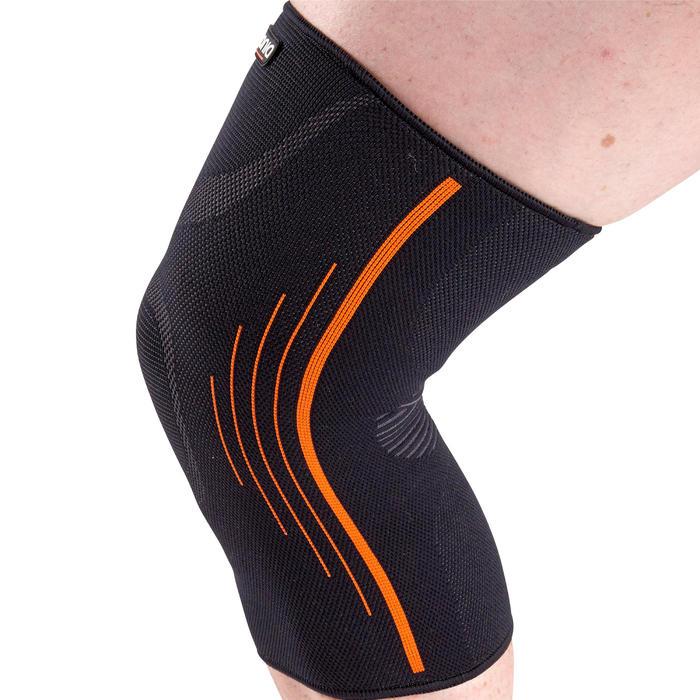 左/右男式/女式护膝Soft 300 - 黑色