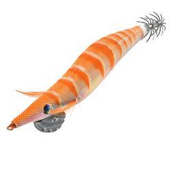 路亚鱼饵木虾EBIKA Squid Jig 3.5 Squid/Cuttlefish Fishing - Orange