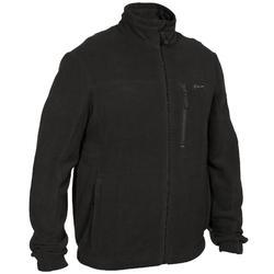 荒野探险300系列摇粒绒外套-黑色