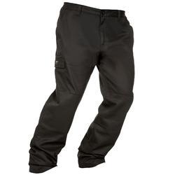 荒野探险保暖长裤-黑色