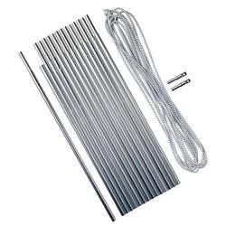 铝制帐杆套件 4.5 米 Ø 8.5 毫米30 厘米套筒