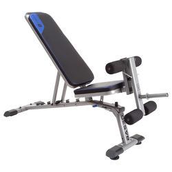 肌肉力量训练仰卧起坐器械健身器材折叠凳哑铃凳卧推凳健身椅 DOMYOS BA 530
