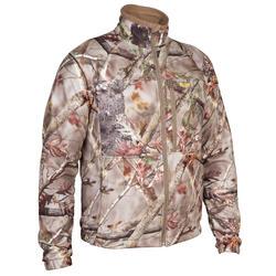 荒野探险仿生迷彩摇粒绒外套