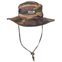 荒野探险系带透气遮阳渔夫帽-丛林迷彩
