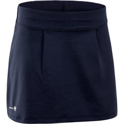 女童球拍类运动短裙100系列-海军蓝