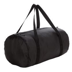 有氧运动可折叠水桶单肩运动包单肩包拎包成人健身包30L DOMYOS S BAG 30L TUBE NOIR 2012