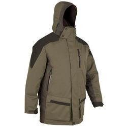 荒野探险保暖防水大衣-拼色