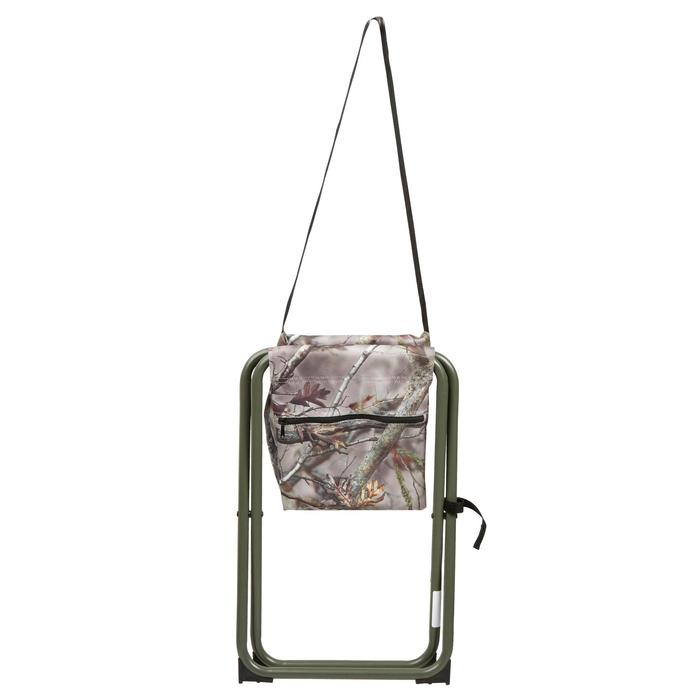 荒野探险仿生迷彩口袋款折叠椅