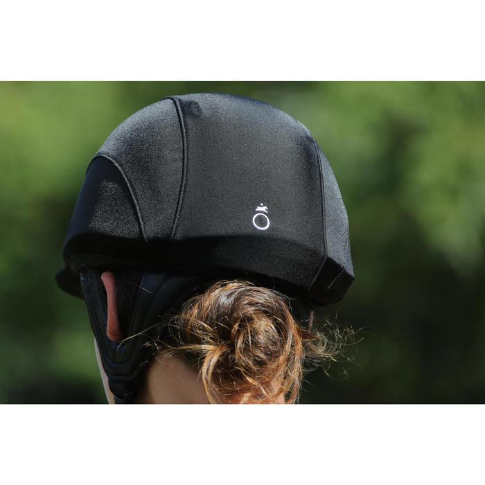 马术安全头盔 C700 - 黑色