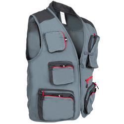 钓鱼运动11个口袋 薄款 透气男士马甲 外套 CAPERLAN CN vest-5 AGATHE