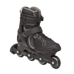 轮滑运动舒适滑行包覆强男士直排轮轮滑鞋 OXELO Fit 3 Fitness Inline Skates