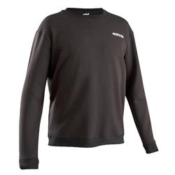 成人足球训练 T100 - 套头衫黑色