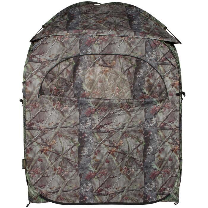 荒野探险棕色伪装迷彩帐篷