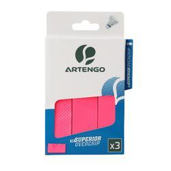 羽毛球运动吸汗舒适吸汗带3条装 ARTENGO SUPERIOR