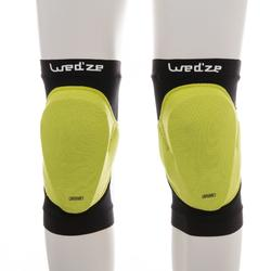 滑雪运动抗冲击 透气滑雪护膝 WED'ZE Wed'ze Defense Knee-P Ski and Snowboard Knee Protection