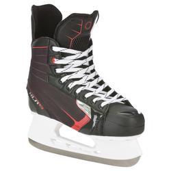滑冰运动稳定舒适滑行曲棍球冰鞋 OXELO XLR 5 Adult Ice Hockey Skates