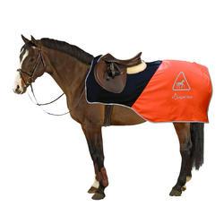 马术运动 锻炼毯- 霓虹橘/黑色