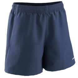 100 Kids' Tennis Shorts - Navy Blue